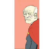 Elderly Superman Photographic Print