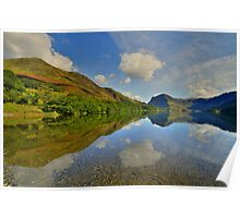 The Lake District: Buttermere Reflections Poster