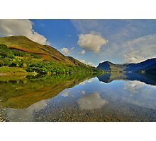 The Lake District: Buttermere Reflections Photographic Print