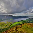 The Lake District: View Over Bassenthwaite Lake by Rob Parsons