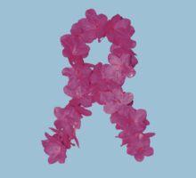 Azalea Flower Arrangement Photo Breast Cancer Awareness Ribbon Kids Clothes
