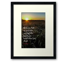Card #6675 Look Up Framed Print