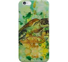india ink green  iPhone Case/Skin