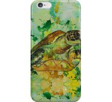 india ink green  iPhone Case/Skin