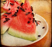 Bee Feast I by Ailinn