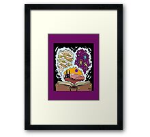 Book of Dimensions Framed Print