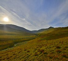 The Lake District: Sunrise Over Skiddaw by Rob Parsons