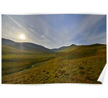 The Lake District: Sunrise Over Skiddaw Poster