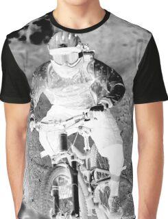 Downhill Mountain Riding Graphic T-Shirt