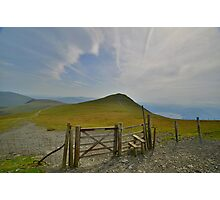 The Lake District: Gateway to Skiddaw Little Man Photographic Print
