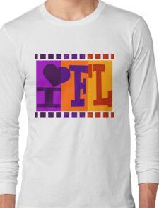 I love Florida and Pop art 3 Long Sleeve T-Shirt