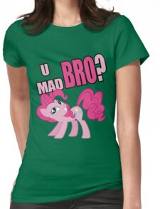 U MAD BRO? Womens Fitted T-Shirt