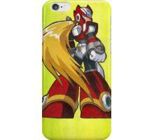 Mega Man Zero iPhone Case/Skin