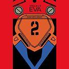 Asuka Soryu Langley Evangelion 02 iPhone Case by ExyonFardel
