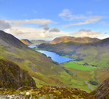 The Lake District: View from Haystacks by Rob Parsons