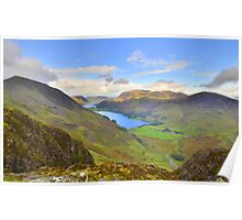 The Lake District: View from Haystacks Poster