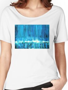 Breakers off Point Reyes original painting Women's Relaxed Fit T-Shirt