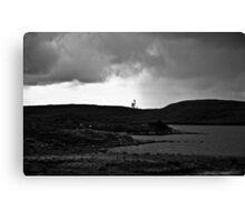 Ireland in Mono: Lonely Trees Canvas Print