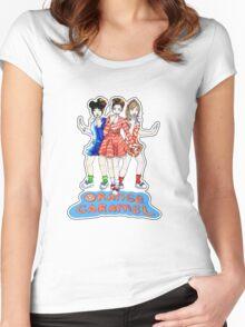 Orange Caramel - Catallena  Women's Fitted Scoop T-Shirt