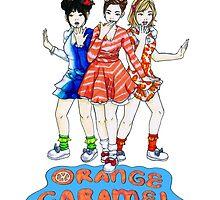 Orange Caramel - Catallena  by Megan Haering