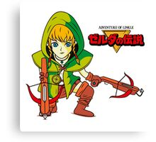 The Adventure of Linkle Canvas Print