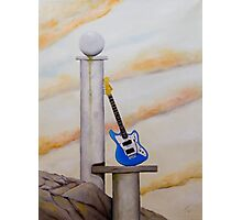 Rock Guitar Fender Photographic Print