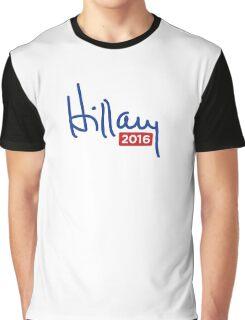 Hillary Clinton 2016 Signature Graphic T-Shirt