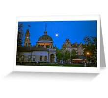 Four Icons of Bendigo in Springtime Greeting Card