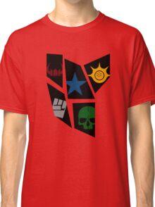Black Rock icons Classic T-Shirt