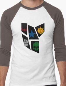 Black Rock icons Men's Baseball ¾ T-Shirt