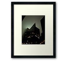Lexington Avenue, Gotham City Framed Print