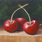 Three Cherries by karenhetzer