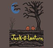 halloween jack o lantern Tia Knight One Piece - Short Sleeve