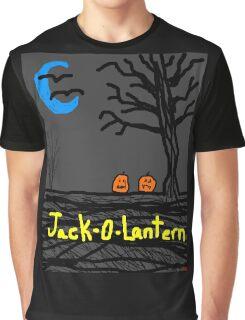 halloween jack o lantern Tia Knight Graphic T-Shirt