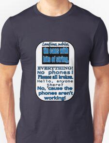 Ianto Jones Phone Quote Unisex T-Shirt