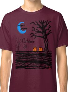Halloween jack o lantern October 31 Tia Knight Classic T-Shirt