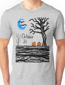Halloween jack o lantern October 31 Tia Knight Unisex T-Shirt