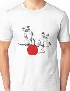 Siamese Kittens II Unisex T-Shirt
