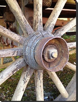 Wooden Wheel by Madeleine Forsberg