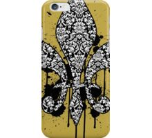Damask Drips iPhone Case/Skin