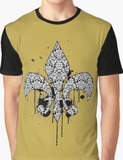 Damask Drips Graphic T-Shirt