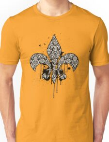 Damask Drips Unisex T-Shirt