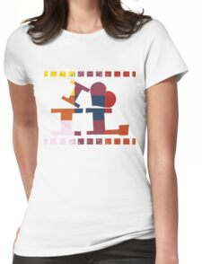 I love Illinois  Womens Fitted T-Shirt