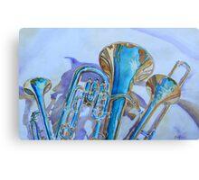 Brass Candy Trio Metal Print