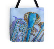 Brass Candy Trio Tote Bag