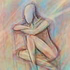 Pastel Figure by Adam Howie