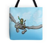 Flying Friends #1: How To Train Your Giant Tote Bag