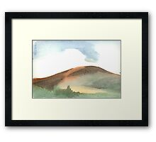 Spring Mountain Framed Print