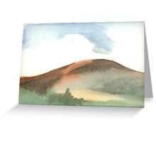 Spring Mountain Greeting Card