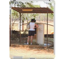 Drysdale River Station telephone booth/retired refrigerator iPad Case/Skin
